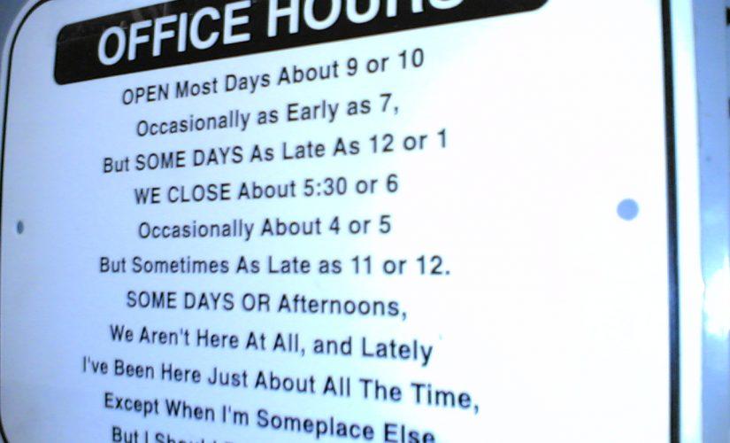 Ich will zum Office, aber wann?
