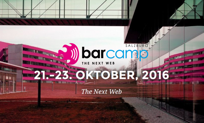 Barcamp 21.-23.Oktober 2016